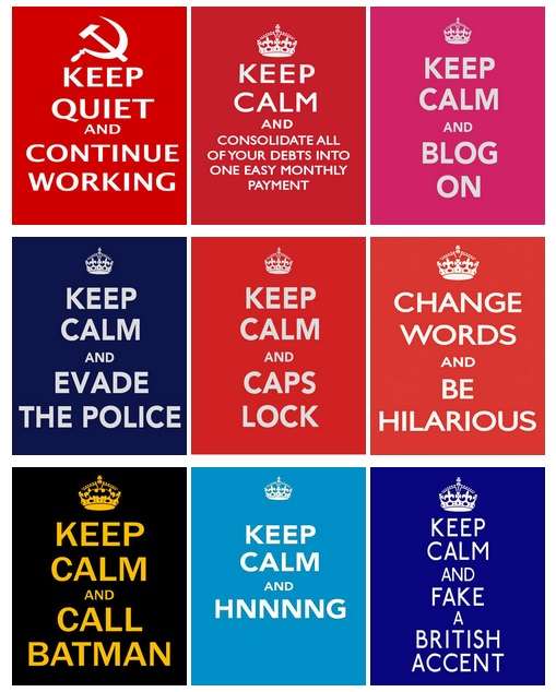 keep calm mix