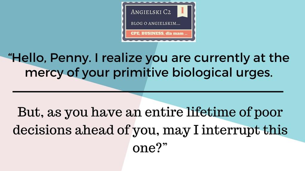 biological urges