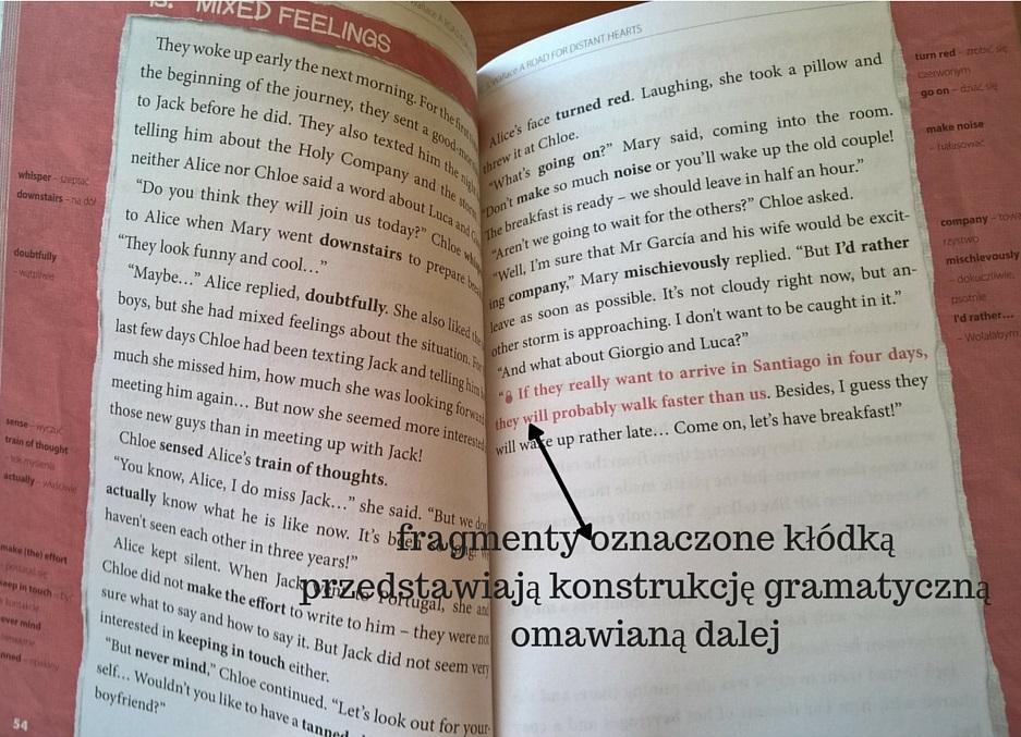 fragmenty oznaczone kłódkąprzedstawiają konstrukcję gramatycznąomawianą dalej
